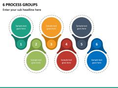 6 Process Groups PPT Slide 2