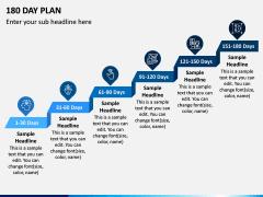 180 Day Plan PPT Slide 1