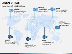 Global Offices PPT Slide 5