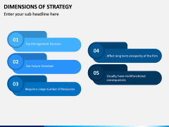 Dimensions of Strategy PPT Slide 9