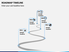 Roadmap Timeline PPT Slide 5