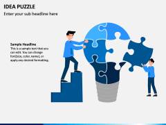 Idea Puzzle PPT Slide 1