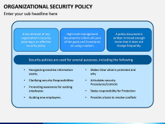 Organizational Security Policy PPT Slide 5
