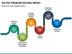 Six Step Problem Solving Model PPT Slide 4