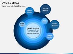 Layered Circle PPT Slide 1