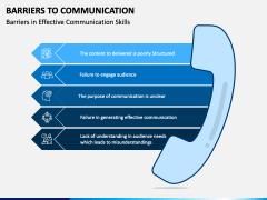 Communication Barriers PPT Slide 1