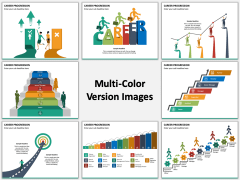 Career Progression Multicolor Combined