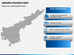 Andhra Pradesh Map PPT Slide 4