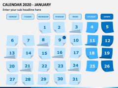 Calendar 2020 PPT Slide 1