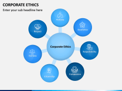 Corporate Ethics PPT slide 1