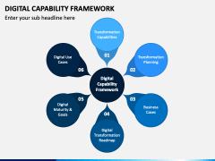 Digital Capability Framework PPT Slide 1