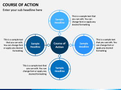 Course of Action PPT Slide 1
