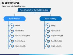 80 20 (Pareto) Principle PPT Slide 4