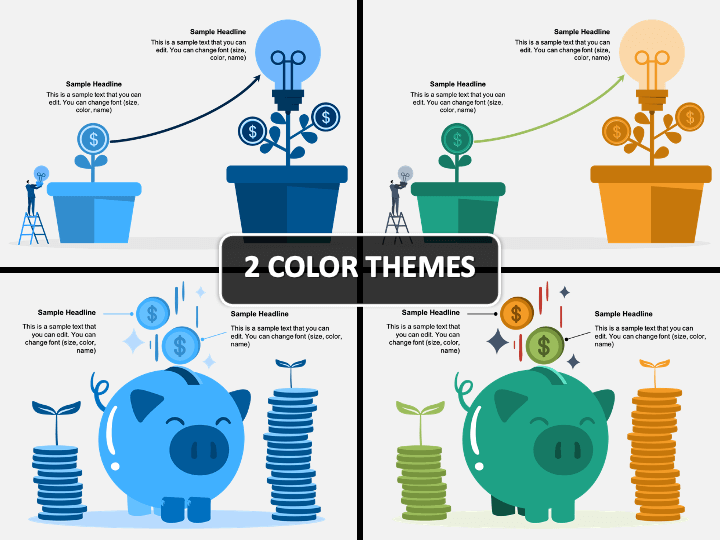 Investment Infographic PPT Cover Slide