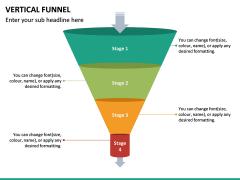 Vertical Funnel PPT Slide 19