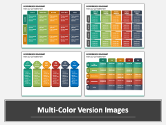 Ecommerce Roadmap PPT Multicolor Combined