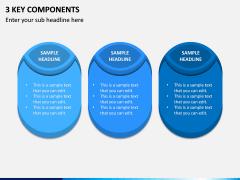 3 Key Components PPT Slide 1