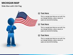 Michigan Map PPT Slide 7
