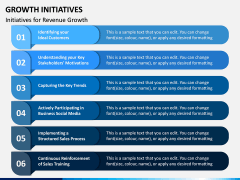 Growth Initiatives PPT Slide 6