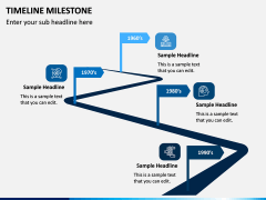 Timelines Milestone PPT Slide 3