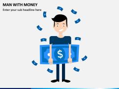 Man with Money PPT Slide 1