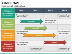 1 Month Plan PPT Slide 6