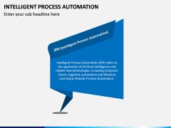 Intelligent Process Automation PPT Slide 1