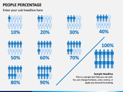 People Percentage Icons PPT Slide 6