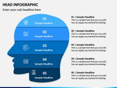 Head Infographics PPT Slide 8