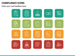 Compliance Icons PPT Slide 2