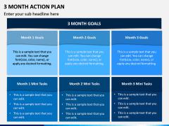 3 Month Action Plan PPT Slide 4