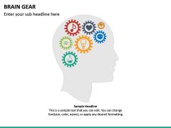Brain Gear PPT Slide 5