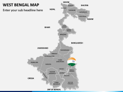 West Bengal Map PPT Slide 2