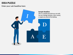 Idea Puzzle PPT Slide 3