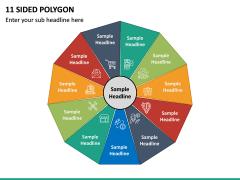 11 Sided Polygon PPT Slide 2