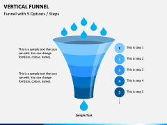 Vertical Funnel PPT Slide 16