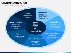 CRM Implementation PPT Slide 1