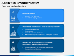 Just In Time (JIT) Inventory System PPT Slide 3