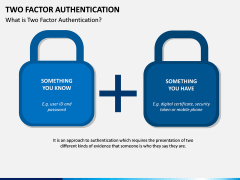 Two Factor Authentication PPT Slide 2