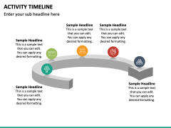 Activity Timeline PPT Slide 5
