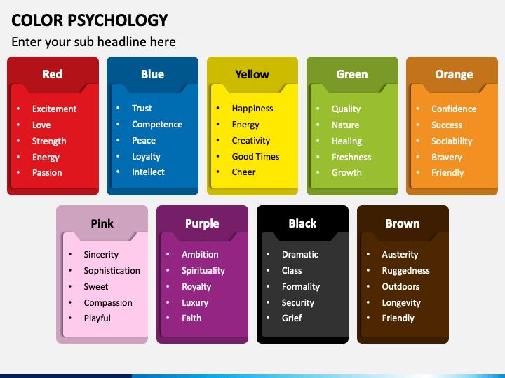 Color Psychology PPT Slide 1