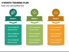 3 Month Training Plan PPT Slide 4