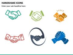 Handshake Icons PPT Slide 2