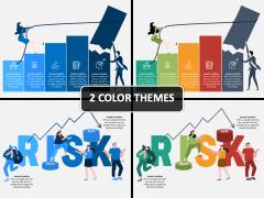 Economic Risk PPT Cover Slide