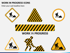 Work in Progress (WIP) Icons PPT Slide 3