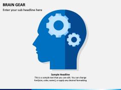 Brain Gear PPT Slide 1
