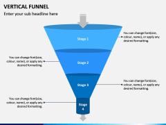 Vertical Funnel PPT Slide 2