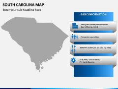 South Carolina Map PPT Slide 4