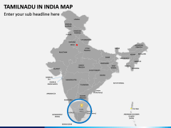 Tamilnadu Map PPT Slide 4