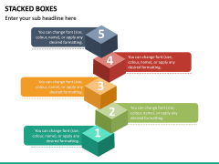 Stacked Boxes PPT Slide 2